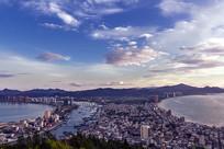 美丽的惠州双月湾