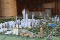成都科学城规划展示厅规划模型