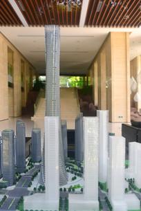成都科学城规划展示厅建筑模型