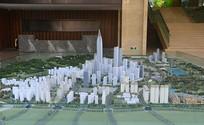 成都科学城规划展示厅模型