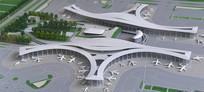 成都天府国际机场模型