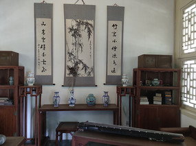 清代客厅家具