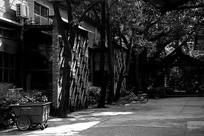 广州红砖厂艺术区黑白图片