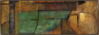 横幅沙发背景画
