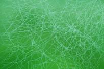 绿色背景的蜘蛛网