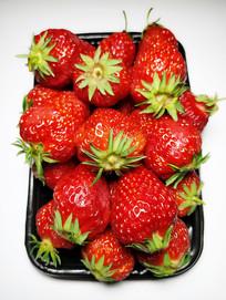 新鲜大草莓