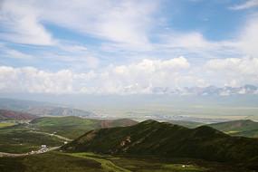 甘肃山脉风光
