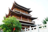 孔子庙阁楼