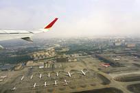 航拍成都双流国际机场