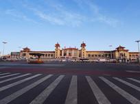 北京站广角全景