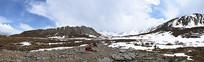 阿尼玛神山东沟穿越黄龙仙境