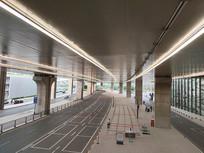 北京新机场落客区公路