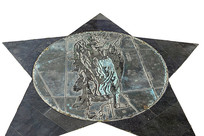 西方占星学星座浮雕-处女座