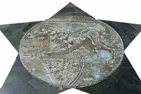 西方占星学星座浮雕-狮子座