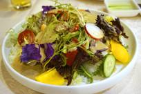 一盘蔬菜沙拉