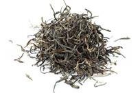 白背景古树茶茶叶