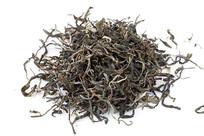 白背景上的古树茶