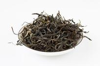 古树茶在白背景上