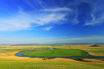 呼伦贝尔草原额尔古纳河牧场