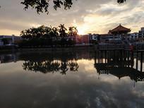 揭西棉湖古镇云湖风景