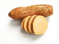 静物黄皮红薯