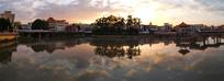 棉湖云湖公园全景图