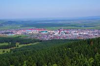 内蒙古红花尔基小镇