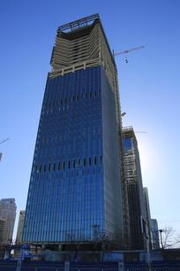 平安银行摩天大楼在建