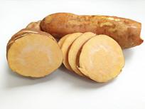 切片黄心红薯