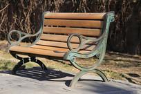 园林长椅子靠背椅