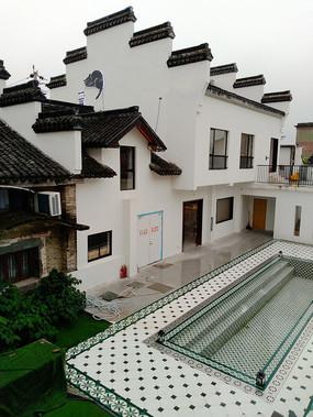 中式传统建筑-徽派建筑