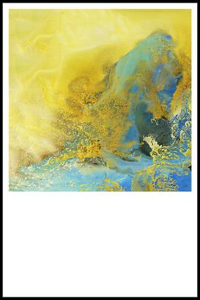 北欧风格现代抽象画