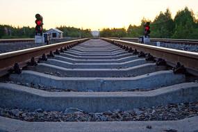 大兴安岭牙林线铁路信号灯