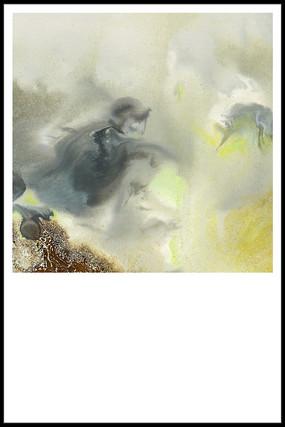 意境水墨壁画