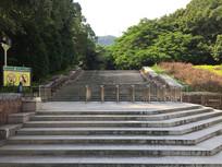 圭峰山大理石台阶入口