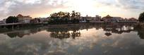 棉湖云湖公园全景