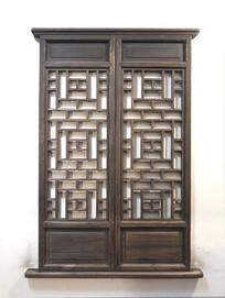 木雕工艺窗