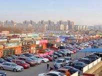 南京大明路汽车街区-二手车市场
