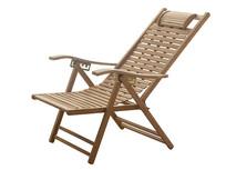 休闲躺椅抠图白底