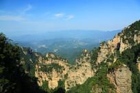 张家界国家森林公园山峰风光