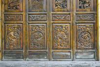 中式门窗及传统图案雕花装饰