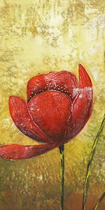 抽象花卉画