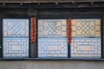 东北民居窗户