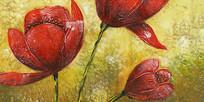 现代花卉装饰画