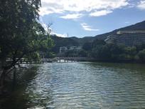 新会玉湖景区美景
