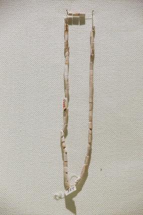 白石管饰品