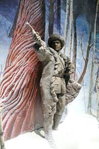 东北军抗日英雄雕像