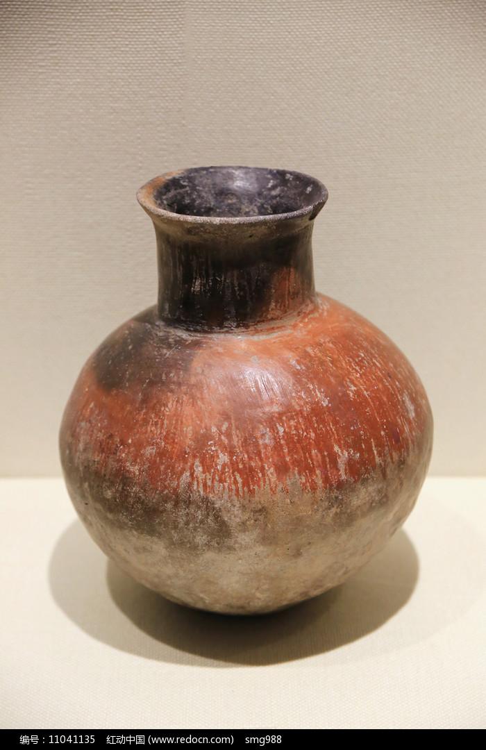 红衣陶壶青铜时代图片