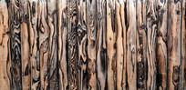 火烧木墙纹理