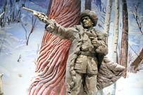 抗日英雄雕像